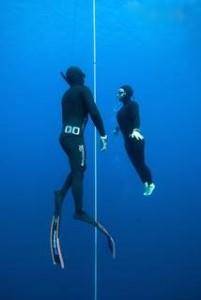 Freedive rustig blijven
