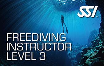 Freediving instructeur level 3 bij Enker