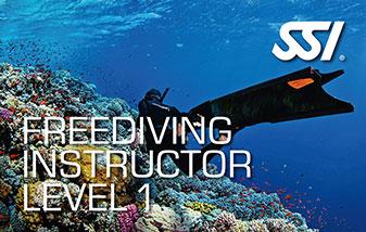 Freediving instructeur level 1 bij Enker